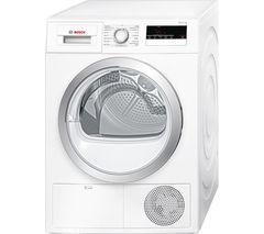 BOSCH Serie 4 WTN85200GB Condenser Tumble Dryer - White
