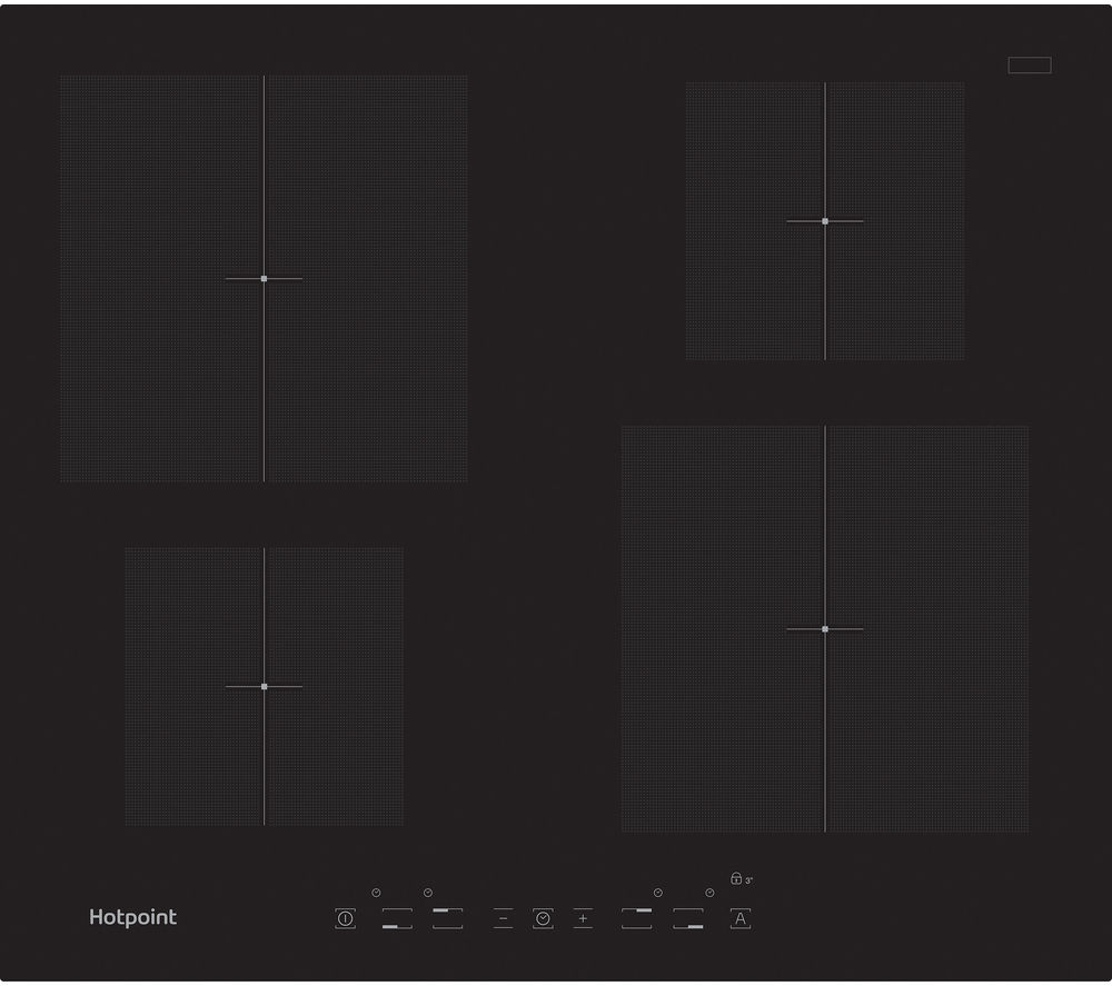 HOTPOINT Newstyle CIA 640 C Electric Induction Hob - Black