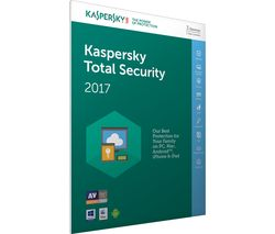 KASPERSKY Total Security 2017 - 1 year for 3 devices