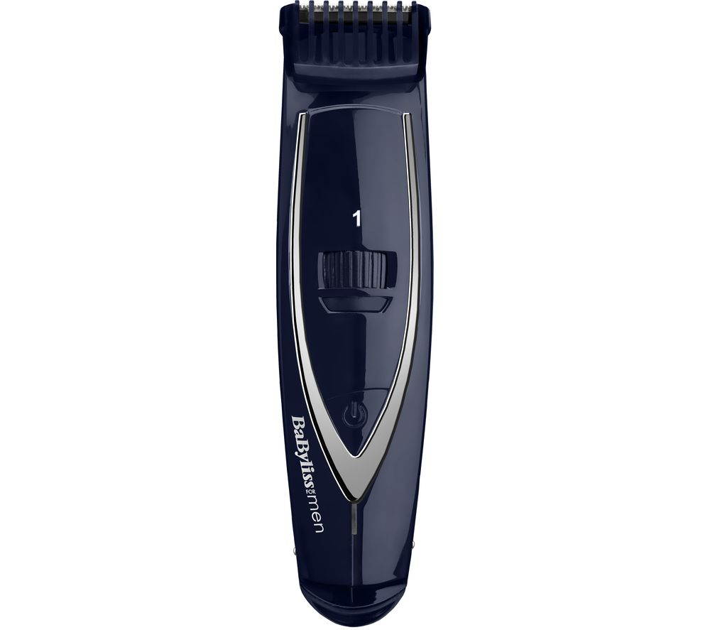 buy babyliss for men 7897u super beard trimmer blue free delivery currys. Black Bedroom Furniture Sets. Home Design Ideas