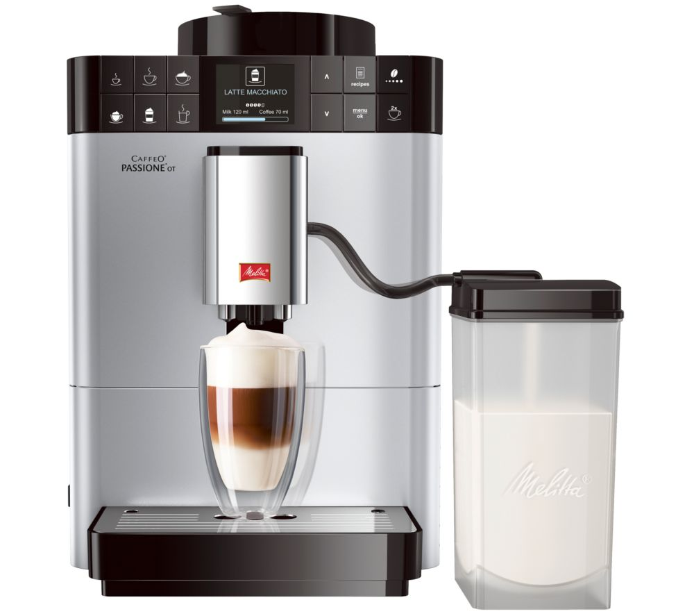 Compare retail prices of Melitta Caffeo Passione OT F53-1-101 Bean to Cup Coffee Machine to get the best deal online