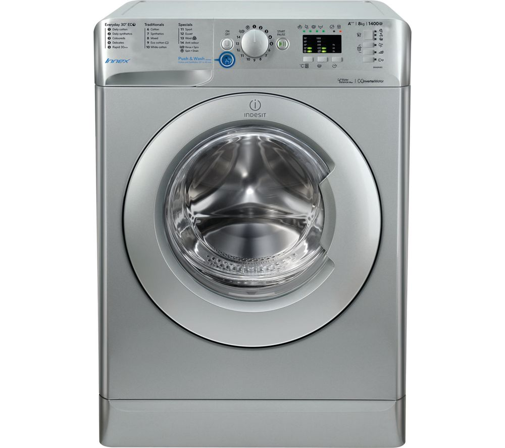 INDESIT Innex BWA 81483X S Washing Machine - Silver