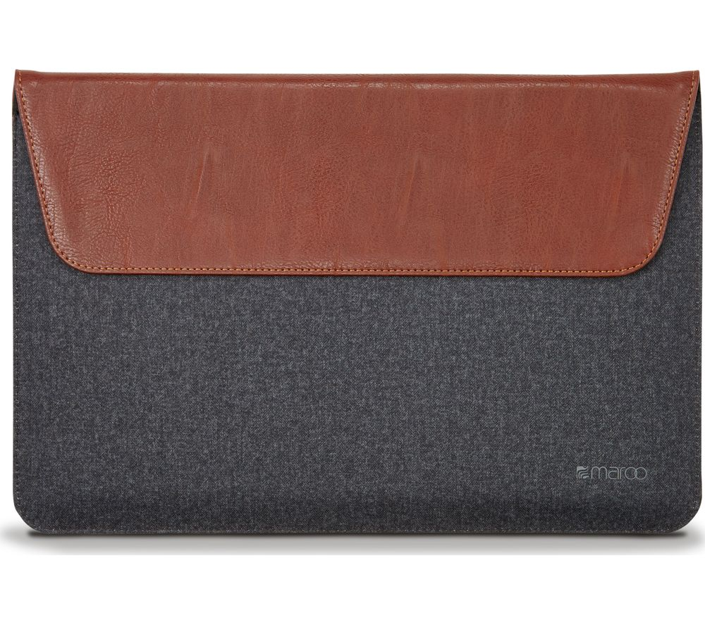 MAROO MR-MS3307 Woodland Surface Pro 4 Sleeve - Black & Brown