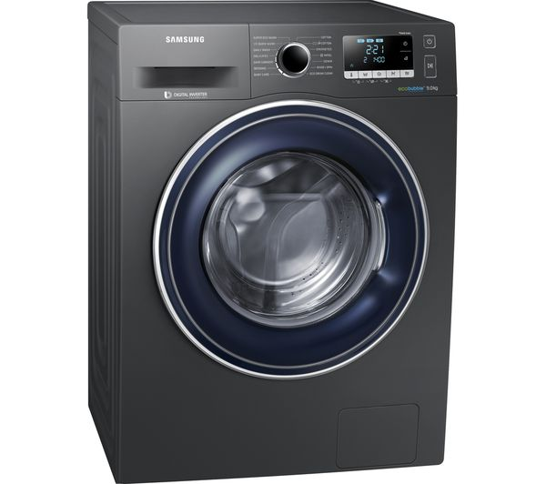 Samsung Washing Machine ~ Buy samsung ecobubble ww j fx kg spin washing