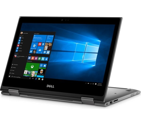 buy dell inspiron 13 5000 13 3 2 in 1 silver office 365 home 1 year for 5 users. Black Bedroom Furniture Sets. Home Design Ideas