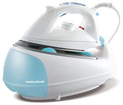 MORPHY RICHARDS Jet Steam 333021 Steam Generator Iron - White & Blue