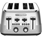 TEFAL Avanti Classic 4-Slice Toaster - Silver