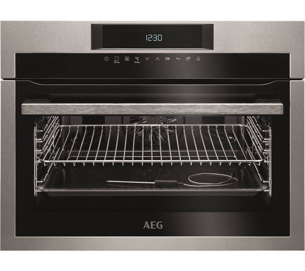 Image of AEG KPE742220M Electric Oven - Stainless Steel, Stainless Steel