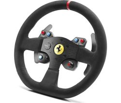 THRUSTMASTER Ferrari 599XX Evo 30 Alcantara Edition Wheel - Black