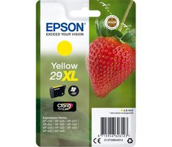 EPSON 29XL Strawberry Yellow Ink Cartridge