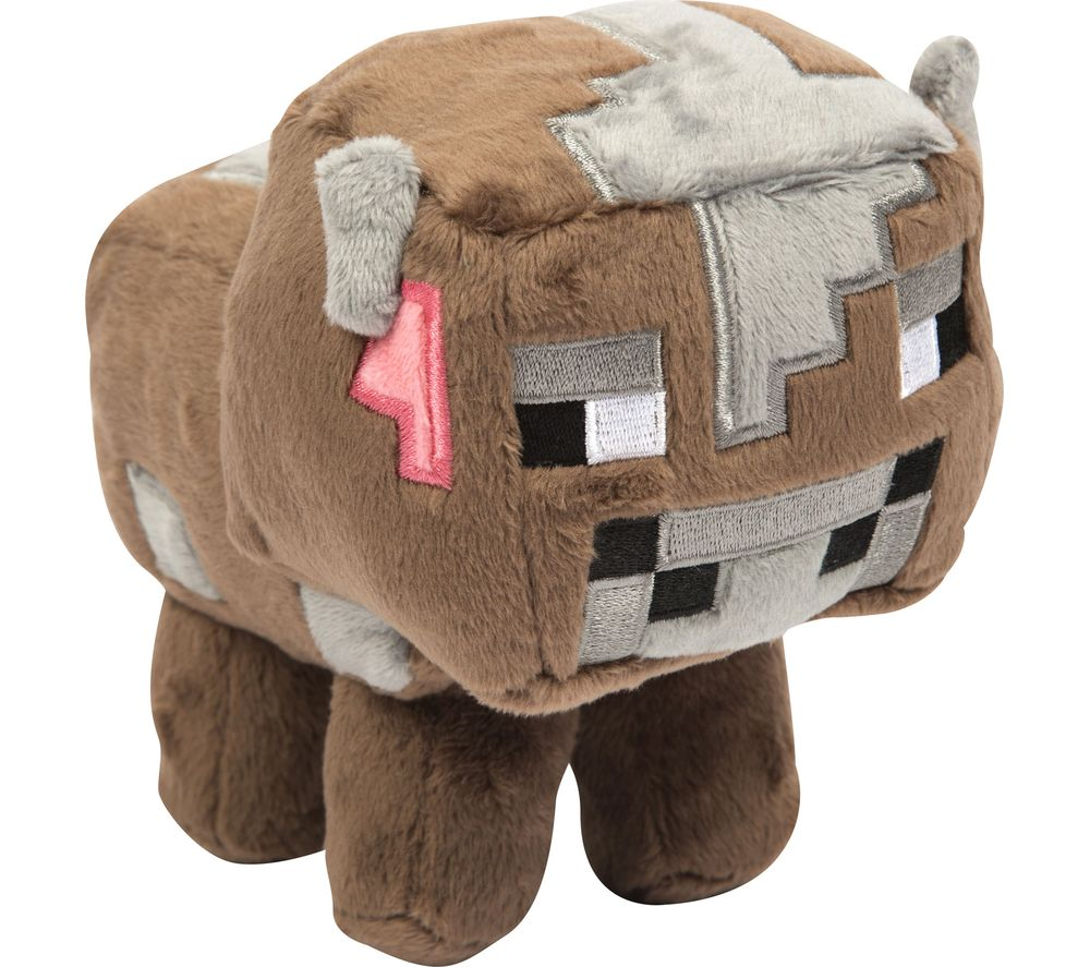 Compare retail prices of Minecraft Baby Cow Plush Toy - Small Brown Brown to get the best deal online