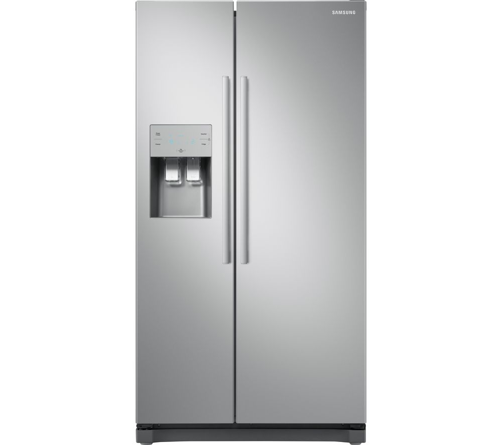 buy samsung rs50n3513sa american style fridge freezer metal graphite free delivery currys. Black Bedroom Furniture Sets. Home Design Ideas