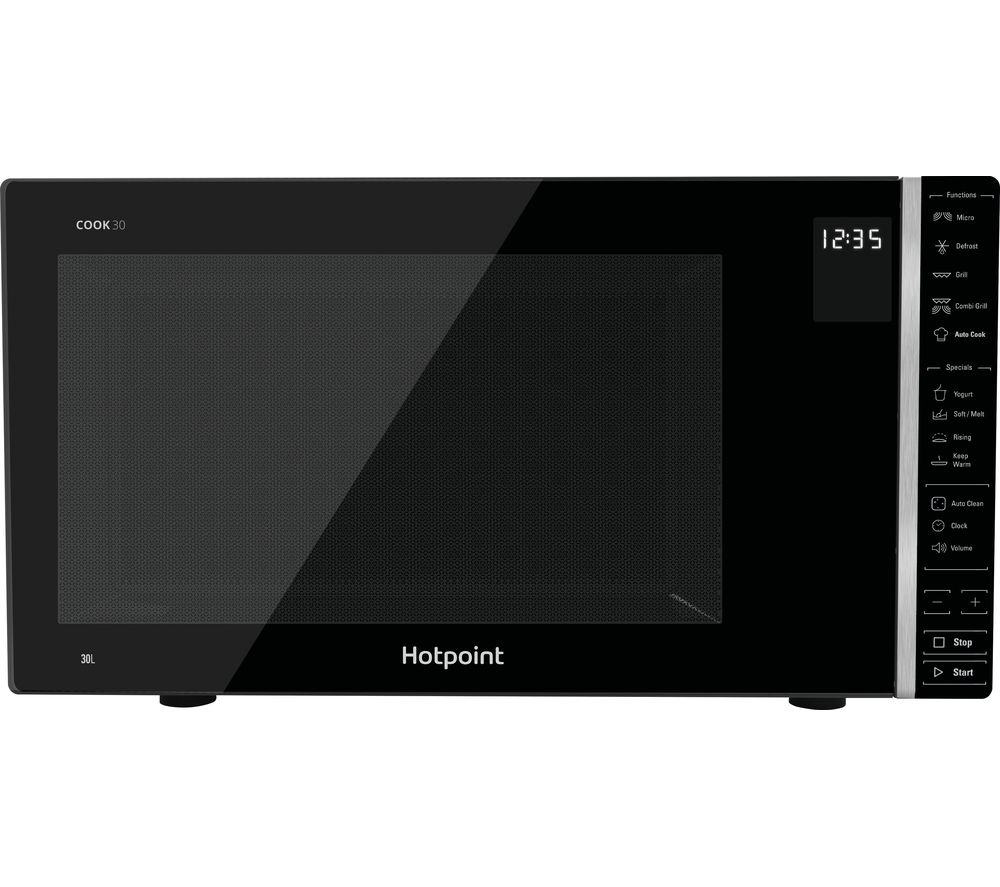 HOTPOINT MWH 303 B Microwave with Grill - Black