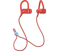 JAM Live Fast HX-EP404RD Wireless Bluetooth Headphones - Red