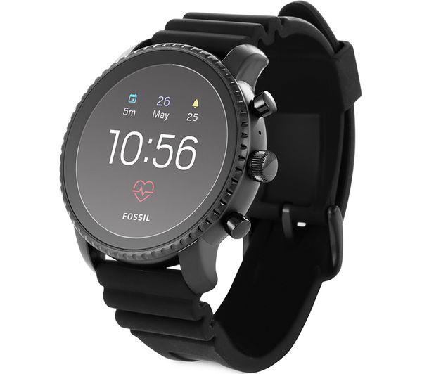 8ae189672 Buy FOSSIL Q Explorist HR Smartwatch - Black