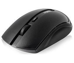 RAPOO 7200M Wireless Optical Mouse - Black