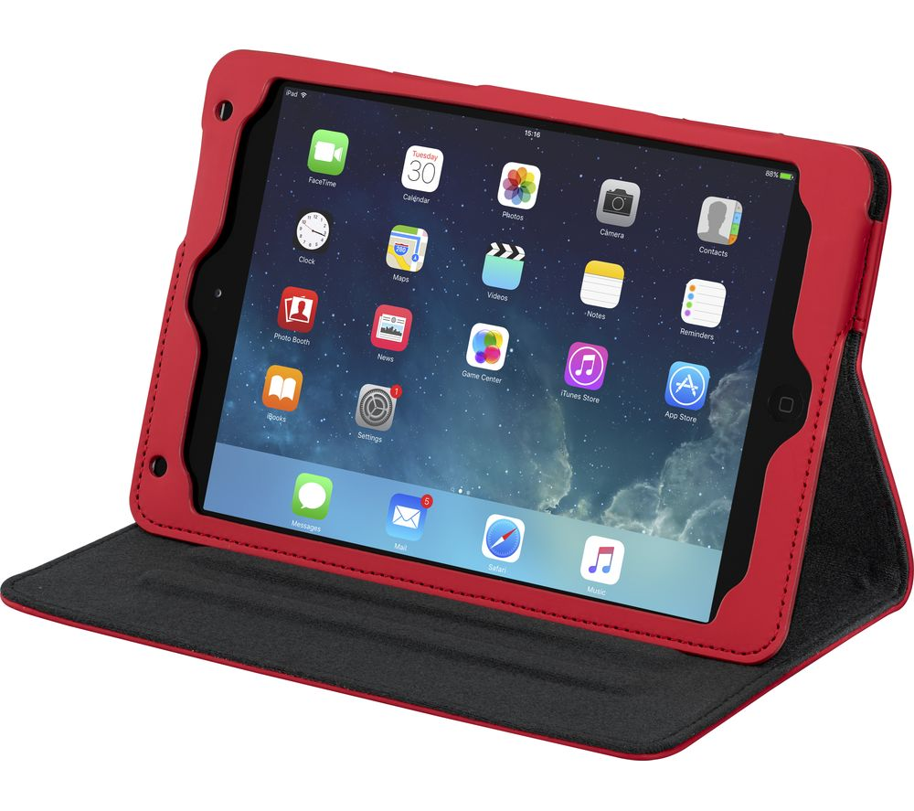 "IWANTIT IM4SKRD18 7.9"" iPad Mini 4 Smart Cover - Red"