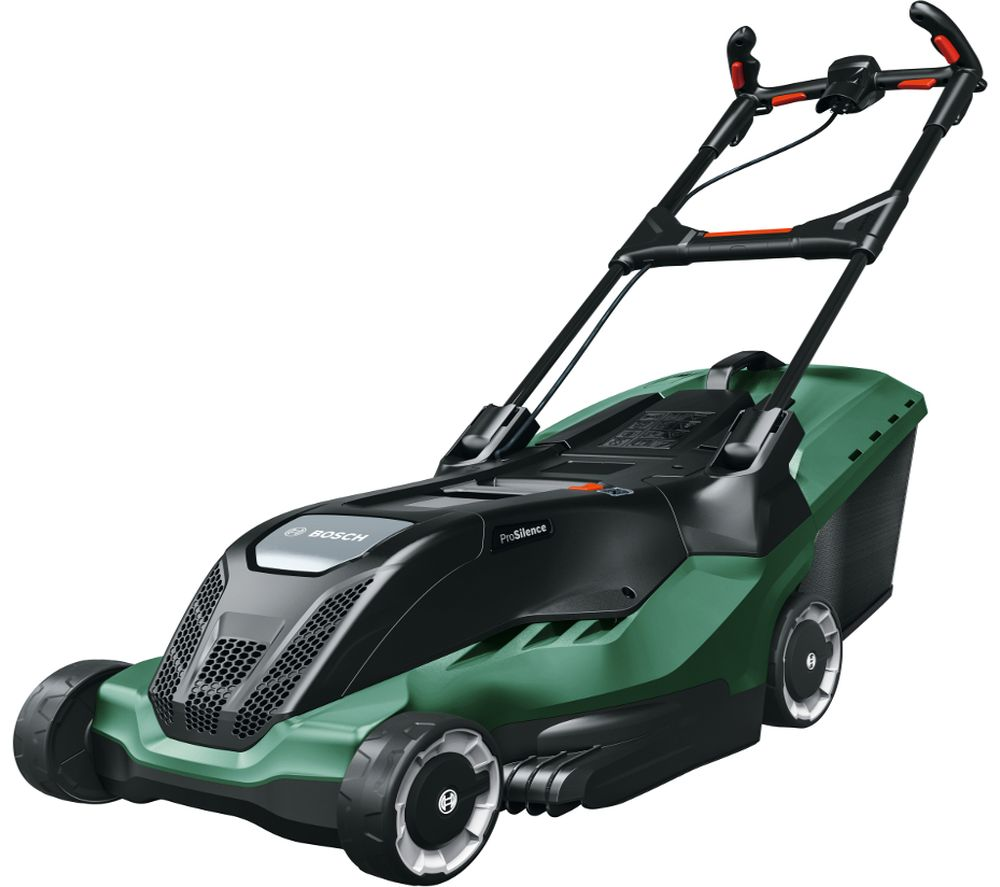 Image of BOSCH AdvancedRotak 650 Corded Rotary Lawn Mower - Green, Green