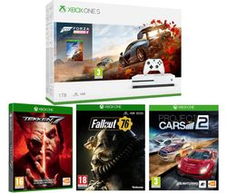 MICROSOFT Xbox One S, Forza Horizon 4, Fallout 76, Tekken 7 & Project Cars 2 Bundle