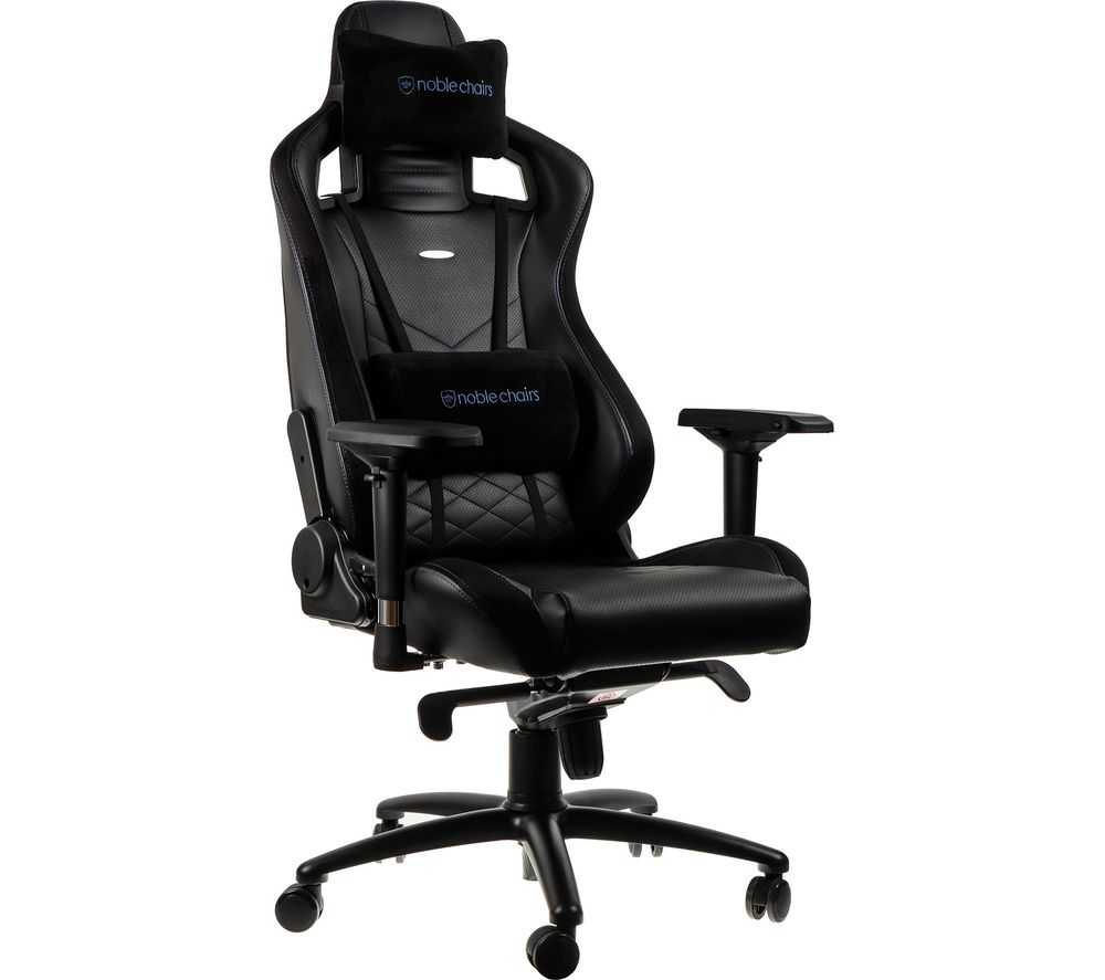 NOBLE CHAIRS Epic Gaming Chair - Black & Blue