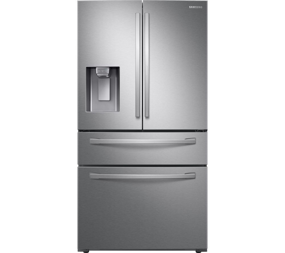 SAMSUNG RF22R7351SR/EU Smart Fridge Freezer - Real Stainless