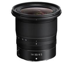 NIKKOR Z 14-30 mm f/4 S Wide-Angle Zoom Lens