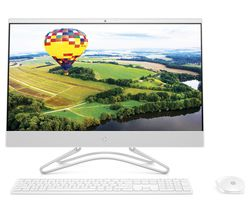 "HP 24-f0034na 23.8"" Intel® Core™ i3+ All-in-One PC - 1 TB HDD, White"
