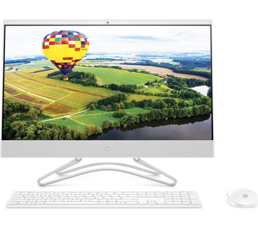 "HP 24-f0034na 23.8"" Intel® Core™ i3+ All-in-One PC - 1 TB HDD, White"