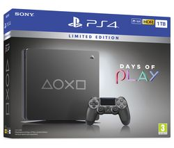 SONY PlayStation 4: Days of Play Edition - 1 TB