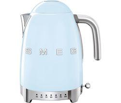 SMEG 50's Retro Style KLF04PBUK Jug Kettle - Pastel Blue