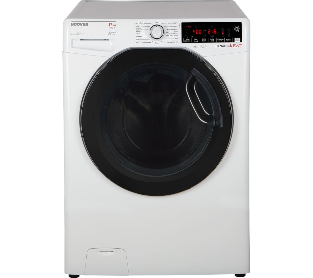 Dynamic DWOA413AHFN8 WiFi-enabled 13 kg 1400 Spin Washing Machine - White, White