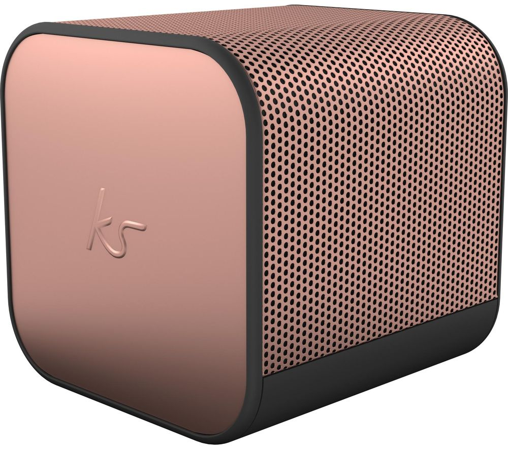 BoomCube Portable Bluetooth Speaker - Rose Gold, Gold