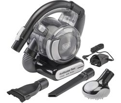 Dustbuster Flexi PD1020LP-GB Handheld Vacuum Cleaner - Black & Chrome