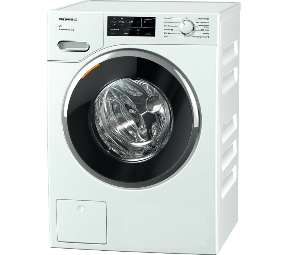 MIELE WWG 360 WiFi-enabled 9 kg 1400 Spin Washing Machine - White