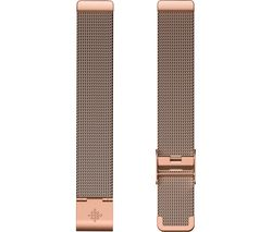 Inspire Metal Mesh Watch Band - Rose Gold, Universal
