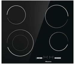 HISENSE E6432C Electric Ceramic Hob - Black Best Price, Cheapest Prices