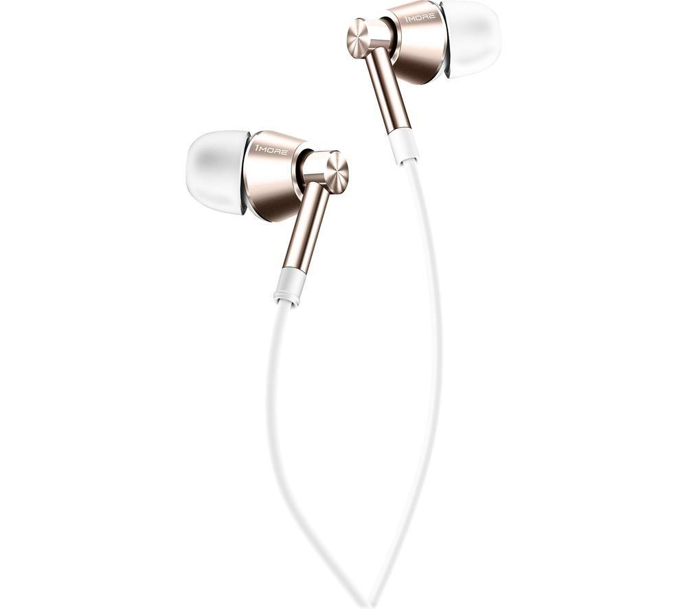 1MORE Single Driver 1M301 Earphones - White, White
