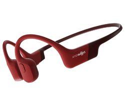 Aeropex Wireless Bluetooth Headphones - Red