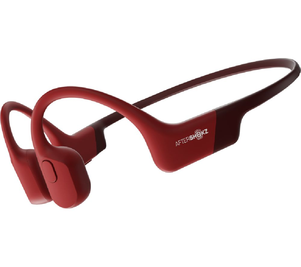 AFTERSHOKZ Aeropex Wireless Bluetooth Headphones - Red, Red