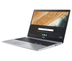 "Image of ACER CB315-3HT 15.6"" Chromebook - Intel® Pentium®, 64 GB eMMC, Silver"