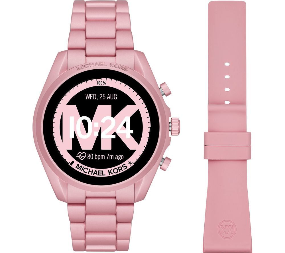 Image of MICHAEL KORS Access Bradshaw 2 MKT5098 Smartwatch - 44 mm, Pink, Pink