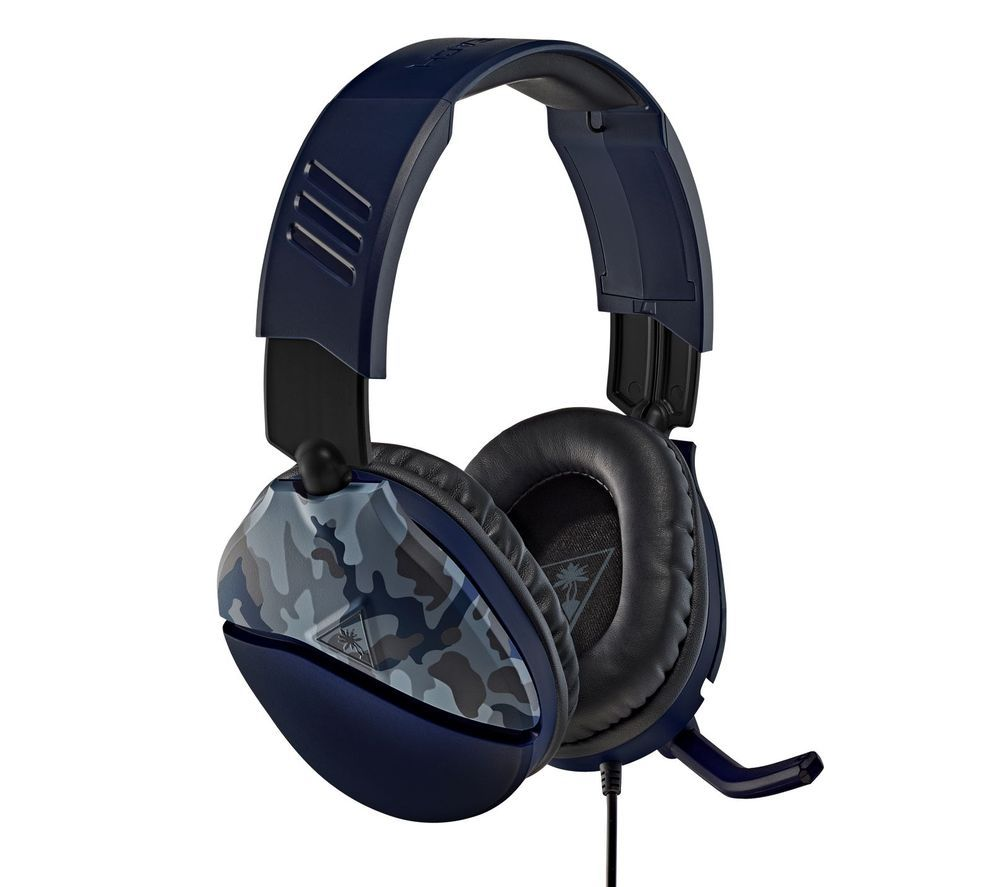 TURTLE BEACH Recon 70 Gaming Headset - Blue Camo