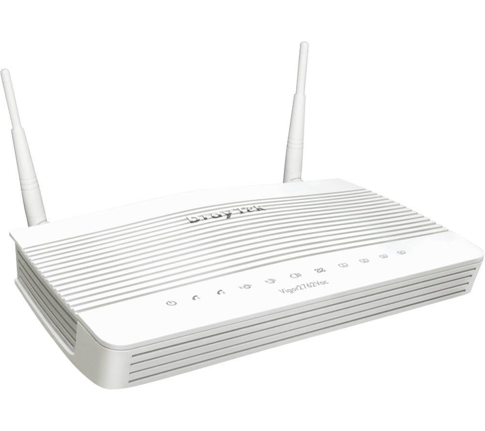 DRAYTEK Vigor V2762N-K WiFi Modem Router - N300, Single-band