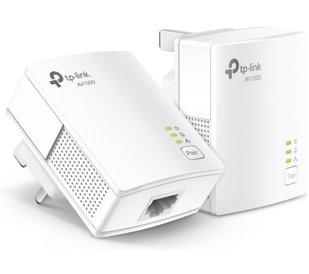 Tp-Link TL-PA7017 Powerline Adapter Kit - Twin Pack