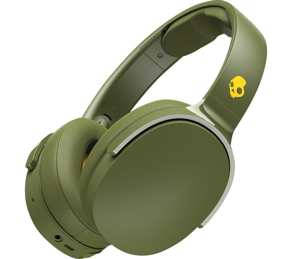 SKULLCANDY Hesh 3 S6HTW-M687 Wireless Bluetooth Headphones - Olive, Olive