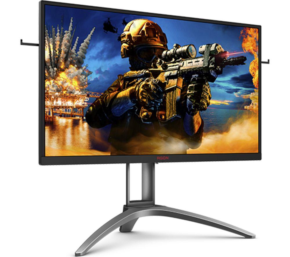 """Image of AOC AG273QZ Quad HD 27"""" TN Gaming Monitor - Black & Silver, Black"""