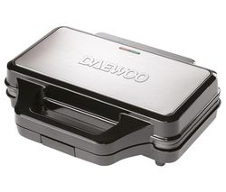 SDA1389 4-Slice Sandwich Maker - Black & Silver