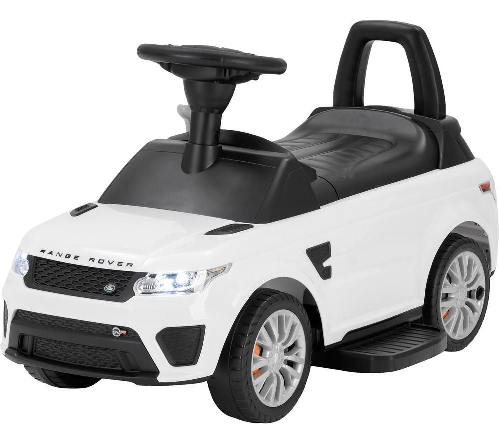 TOYRIFIC Vroom TY6015WH Range Rover Sport SVR Electric Ride On Toy - White