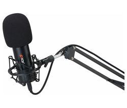 ADXFC0220 Microphone & Boom Arm - Black