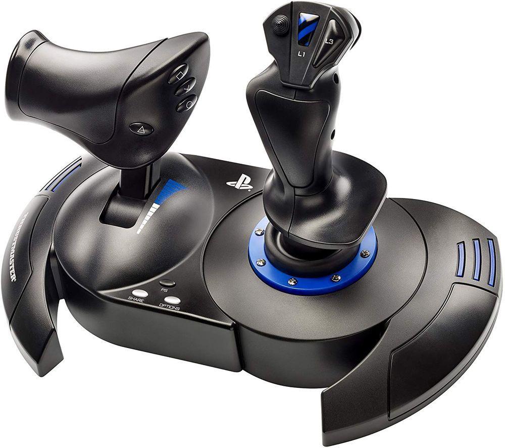 THRUSTMASTER T.Flight Hotas 4 Joystick & Throttle - Black